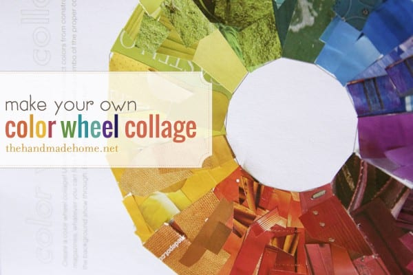 Make Your Own Color Wheel Collage