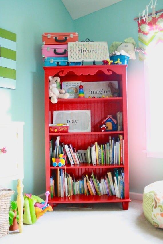 red_bookshelf