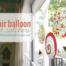 hot air balloon light catchers