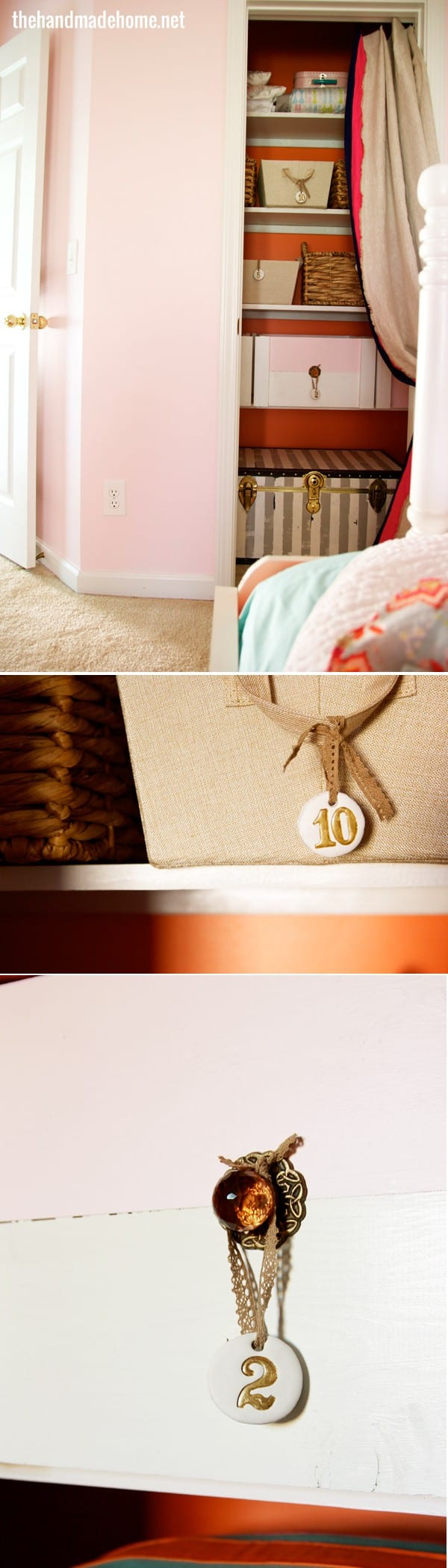 Pink And Orange Bedroom Big Girl Room Reveal