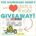 we heart dads & ryobi : a giveaway!