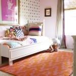 diy striped bedding