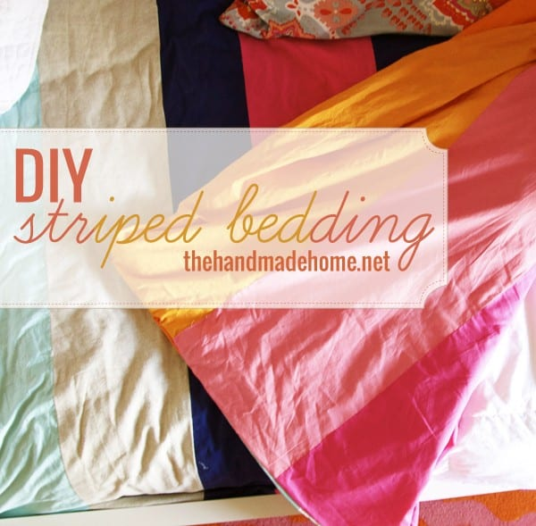 diy_striped_bedding