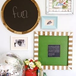 a DIY frame + a freebie printable