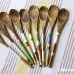 striped spoons