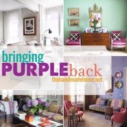 bringing purple back