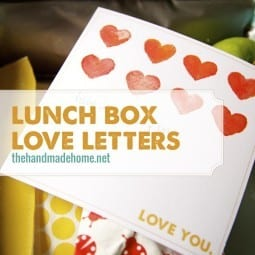lunch box love letters