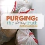 purging: the dirty truth