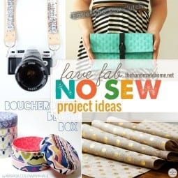 no sew project inspiration