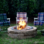 Fire Pit, DIY, Handmade Home (7)