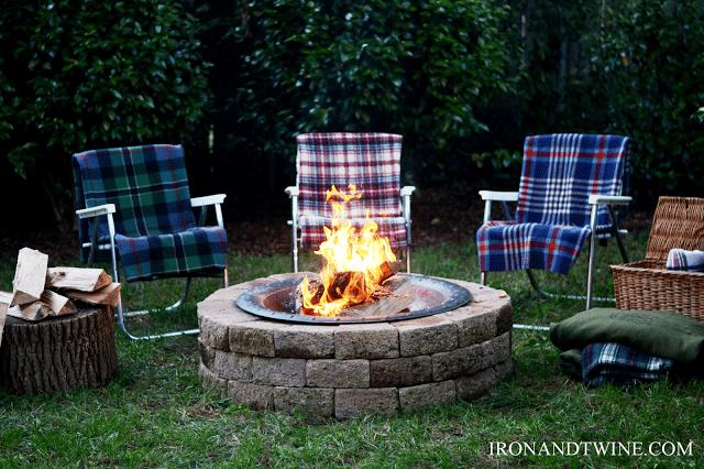 Fire Pit, DIY, Handmade Home (7)