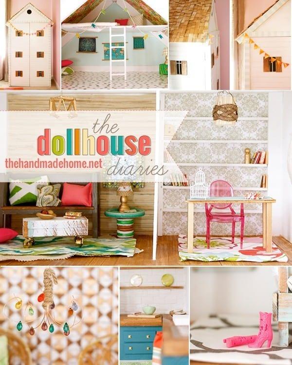 The Dollhouse Diaries: Floors, Windows + Walls