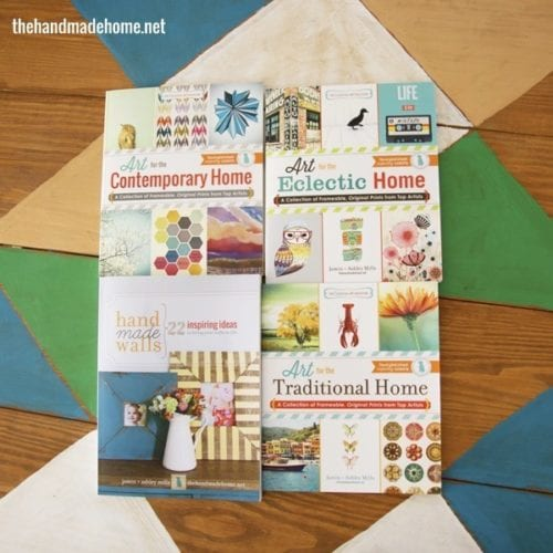 the handmade home book series: a giveaway!