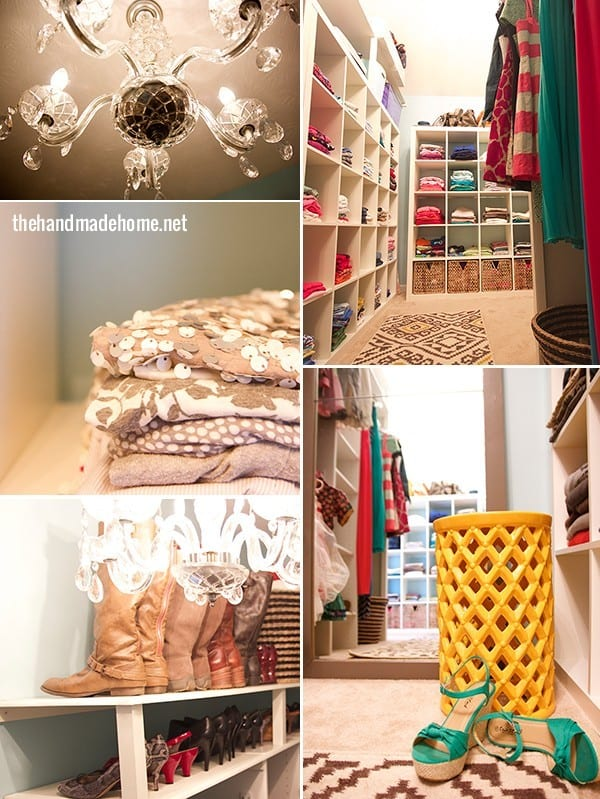 organization around the house - closet