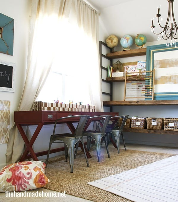 home school style the evolution of a space the