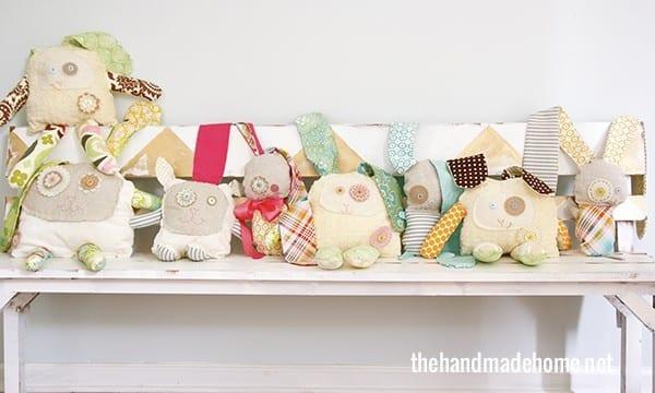 Ragamuffin Rabbits Handmade Easter Treats The Handmade Home
