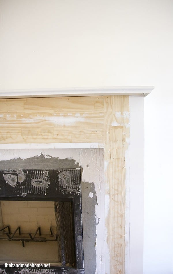 build_up_around_mantel