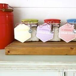 how to make sugar scrub {the perfect gift!}