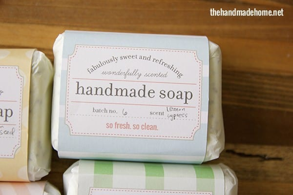 make your own soap {our fave recipes + free printables} - the ...