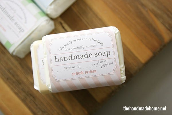 List Of Synonyms And Antonyms Of The Word Handmade Soap Labels