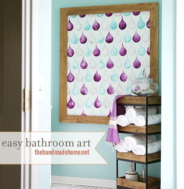 how_to_make_easy_bathroom_art
