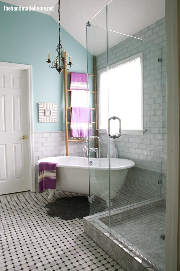 bathroom redo {lemons into lemonade and no more beer cans} - The ...