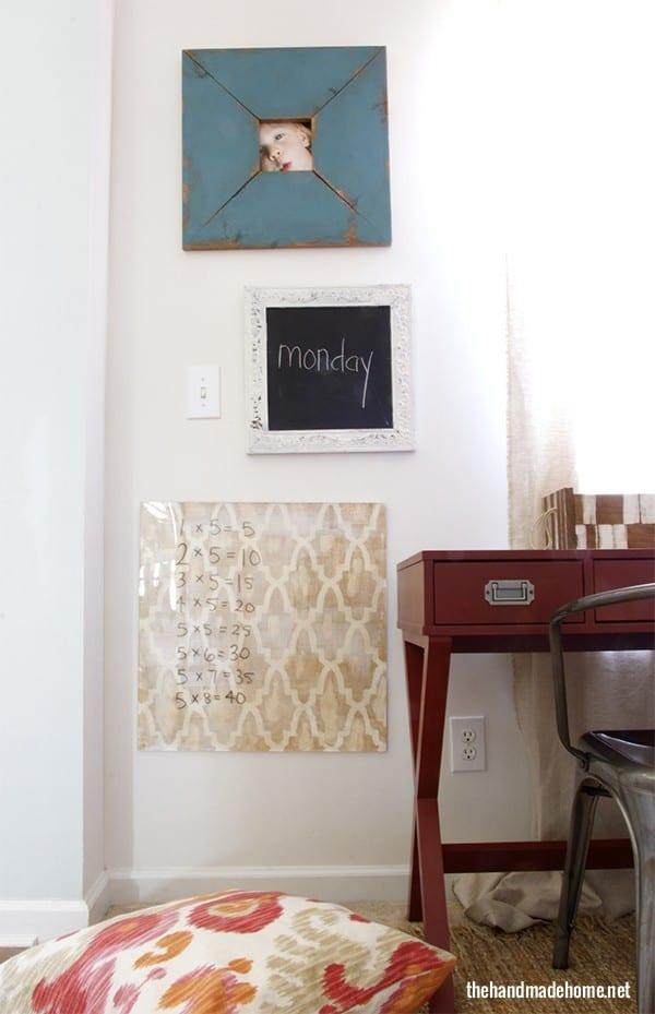 homeschool room essentials - The Handmade Home