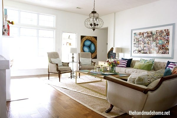 The importance of being intentional the handmade home for Importance of living room