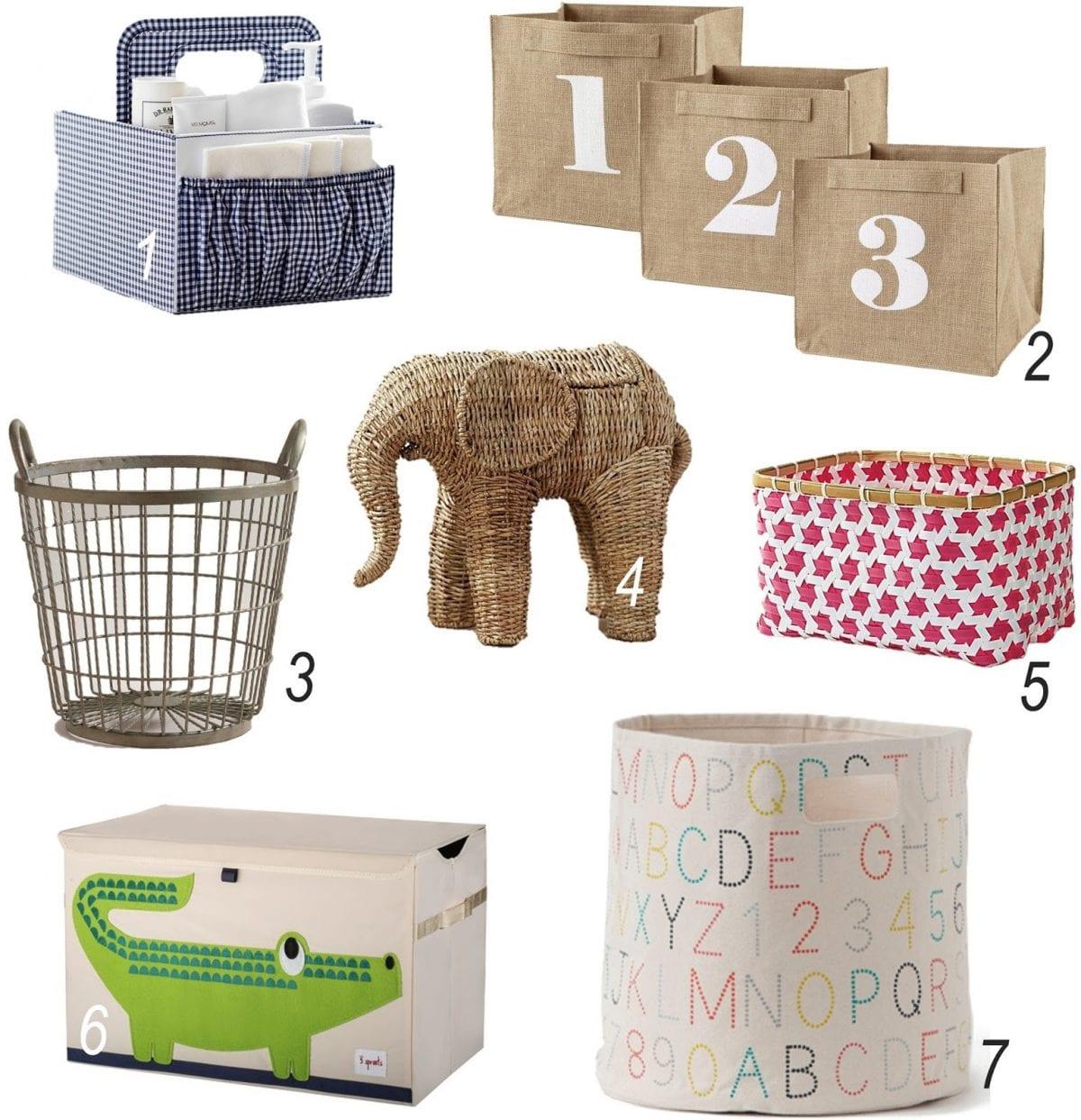 Nursery and Kid Storage