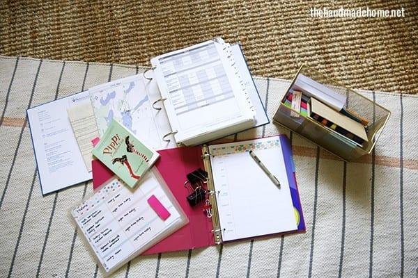 homeschool_curriculum_organization