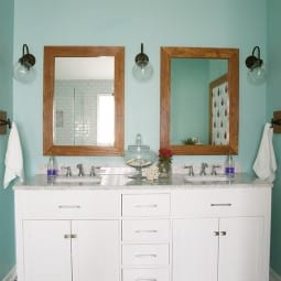 make your own vanity mirrors