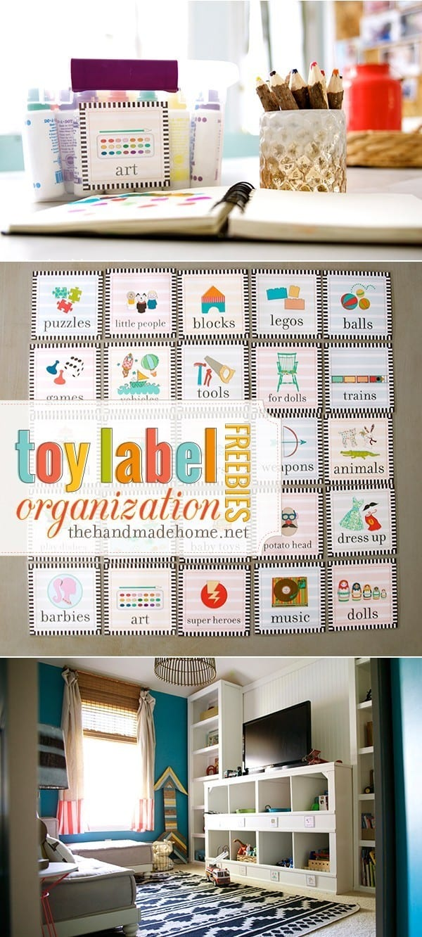 toy organization labels