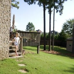 the back porch makeover {before & after}