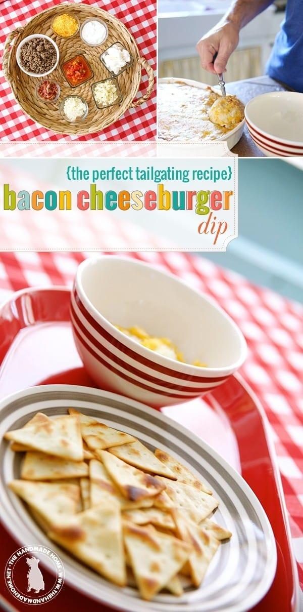 bacon cheeseburger dip