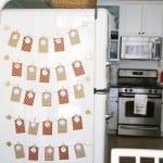 free advent calendar {refrigerator advent}