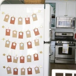 free advent calendar {refrigerator advent}