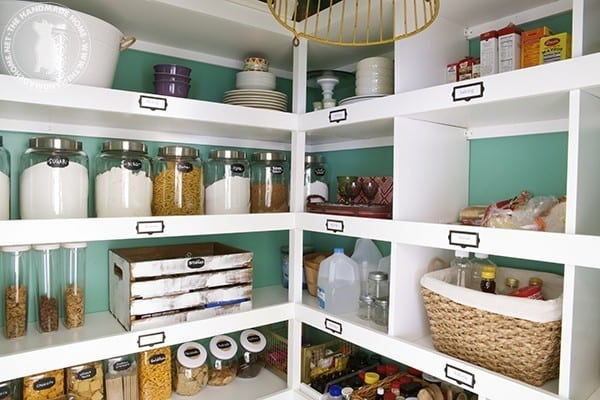 Build Easy Pantry Shelves The Handmade Home
