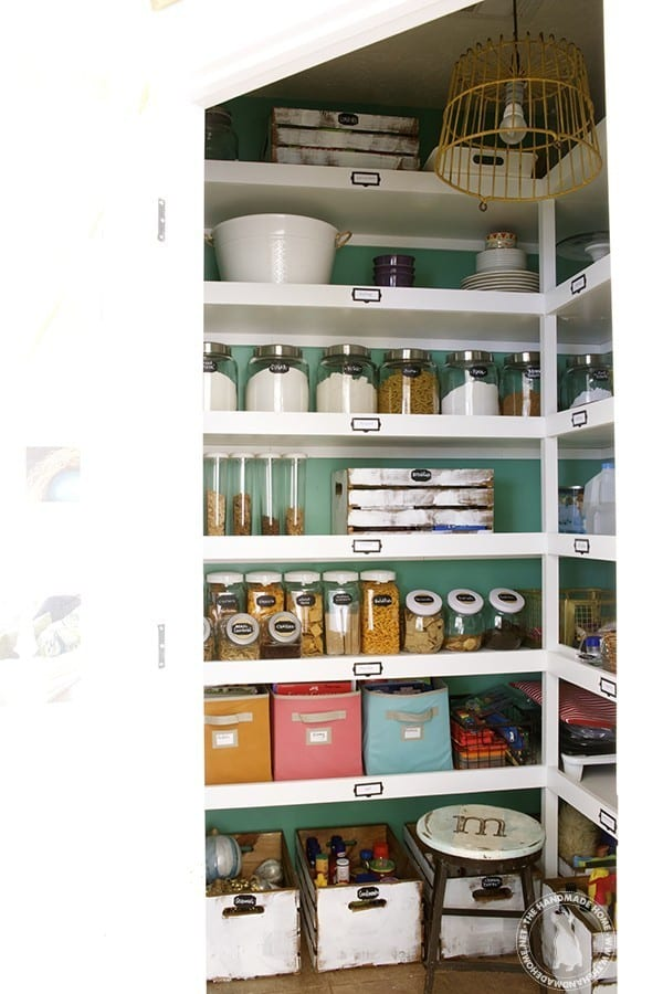 organize your slide out shelf the diy shelves cabinet pantry with kim