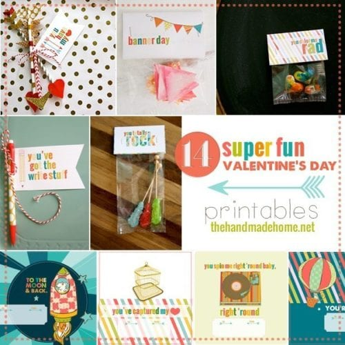 14 super fun valentine's day printables
