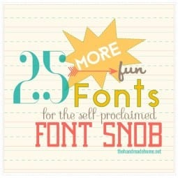 the font snob club: 25 more free fonts {january 2015}