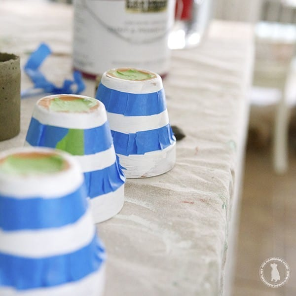 diy_gold_striped_terracotta_pots