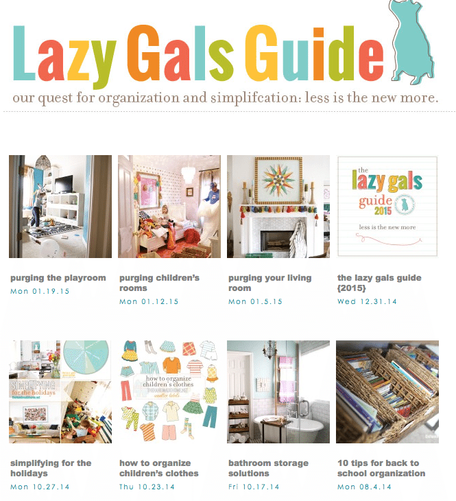 lazy_gals_guide