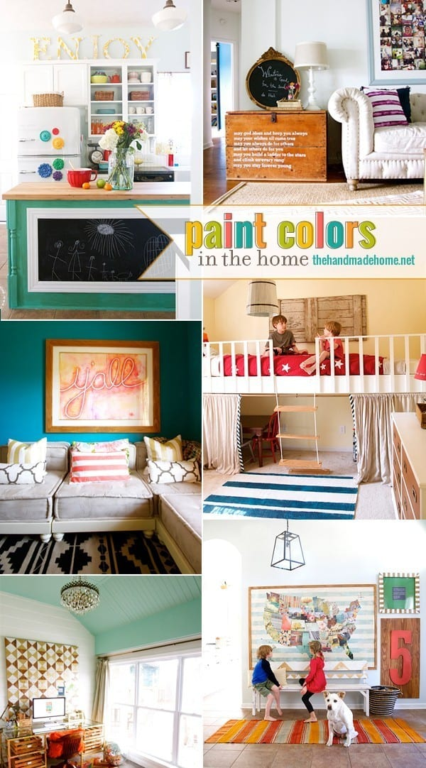 paint colors in the home 2015 the handmade home