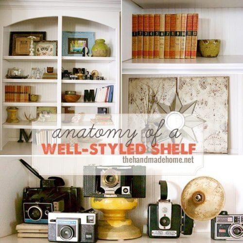 anatomy of the well-styled shelf