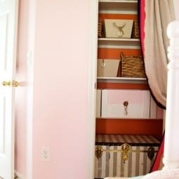 open shelving in the home