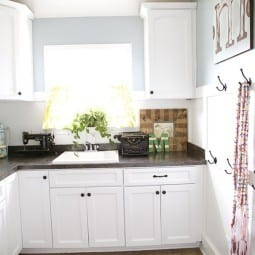 purging laundry rooms and craft spaces