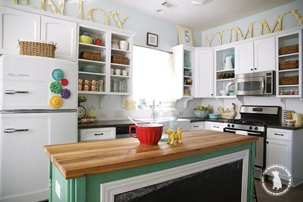 How To Seal U0026 Stain Wooden Countertops: Butchers_block_refinished