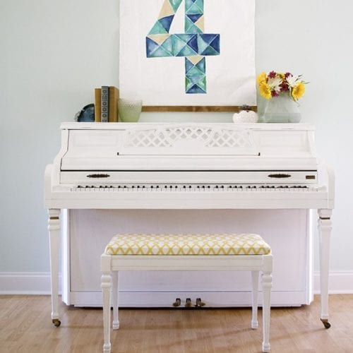 tips and tricks for painting a piano