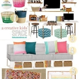 a creative kids space
