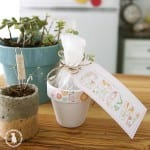 mothers day printables + how to make wildflower bombs